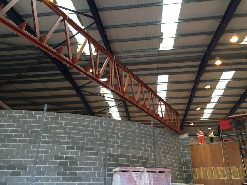 Mccoy engineering commercial and industrial steelwork hull for Home decor hull limited