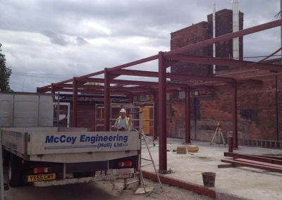 McCoy Engineering Hull Structural Steel