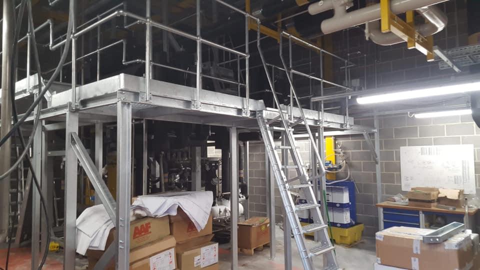 Morrison's Ammonia Plantrooms Access Platforms